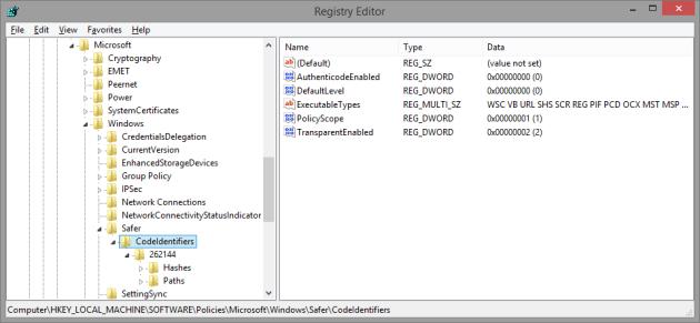 SRP_Registry